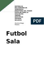 Trabajo 2_Futbol_Sala