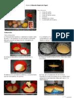 V.imprimible de Bizcocho Simple (Sin Yogur)