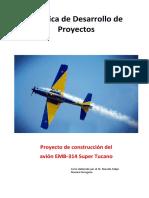 Formato anexo No. 1. Prática de Elaboração de Projeto - Construção de Tucano - Aluno - Espanhol (1).docx