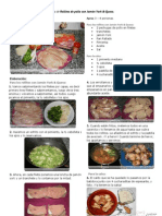 V.Imprimible de Rollitos de pollo con Jamón York & Queso