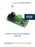 4-20mA Loop Current Transmitter XTR116U