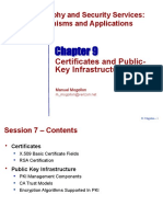 Chapter 9 Certificates and PKI