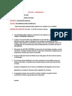 COMUNICADO 1 - LECTURA SÉPTIMOS