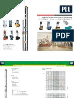 New PEU - Deep Well Water Pump