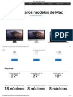 Mac - Comparar modelos - Apple (CO)