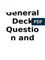 General Deck Question and Answers.docx