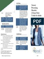 Brochure - Adult Sensory Toolkit