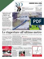 Corriere Della Sera Milano 16 Maggio 2020