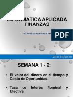 Informática Aplicada Finanzas