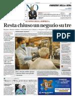 Corriere Della Sera Milano 15 Maggio 2020