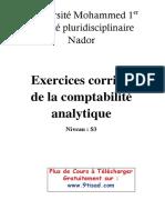 Exercices corrigés de la comptabilité analytique sur www.9tisad.com.pdf