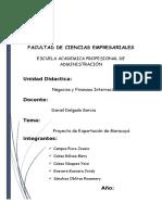 PROYECTO DE EXPORTACION DE MARACUYA