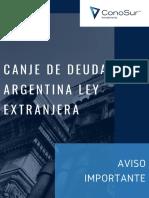 Informe Canje Deuda Argentina ConoSur.pdf