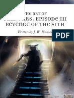 Star Wars Episode III - Artbook