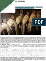 CARMELITAS_ A REFORMA TERESIANA