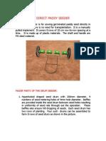 Direct Paddy Seeder Leaflet 1