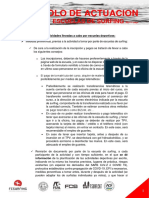 Descarga Documento Completo de Protocolo Covid 19 de Actuación de Las Escuelas de Surfing 11052020