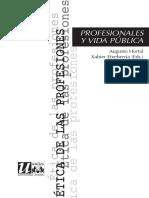 PROFESIONALES Y VIDA PÚBLICA