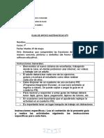 GUIA DE APOYO matematicas septimo