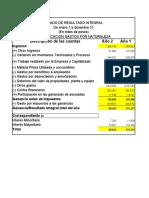 TALLERES-ESTADO DE RESULTADO INTEGRAL