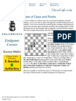 Endings 03 - Bees of Opps and Rooks