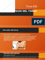 exploracion del torax