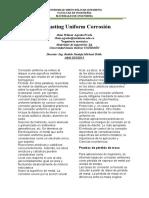 evaluating uniform corrosion JHON AGREDO