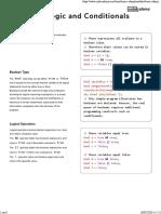 Codecademy C# Logics
