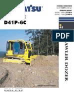 D41P 6C Komatsu