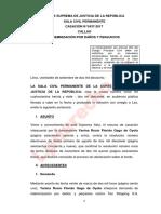 Casación-5437-2017-Callao-LP, INDEMNIZACION POR DAÑOS Y PERJUICIOS