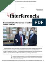 Expertos identifican las falencias en la información oficial sobre el Covid-19 _ Interferencia.pdf