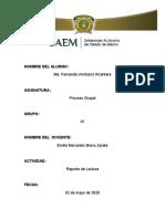 REPORTE DE LECTURA MANEJO DE CONFLICTOS E INTELIGENCIA EMOCIONAL