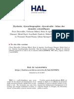 Dyslexie, dysorthographie, dyscalculie  bilan des données scientifiques