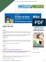 ALGEBRA_ TAREA 4 QUIZ - AYUDAS Y RESPUESTAS │ Examen Universitario Nacional