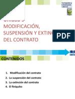 FOL 9 MODIFICACION, SUSPENSION Y EXTINCION DEL CONTRATO -2019