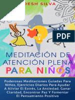 Meditacion De Atencion Plena Pa - Adesh Silva
