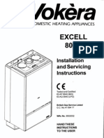 Excell 80sp Installation and Servicing Instructions[1]