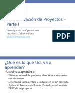 IO - Proyectos I