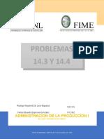 PROBLEMAS 14.3 Y 14.4
