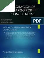 DIAPOSTIVAS - TALENTO HUMANO - VALORACIÓN DE CARGO POR COMPETENCIAS-convertido