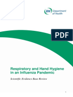 Respiratory and Hand Hygiene in an Influenza Pandemic