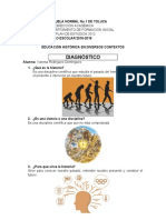DIAGNÓSTICO DE HISTORIA