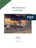 aersp 420 flight test 2 report