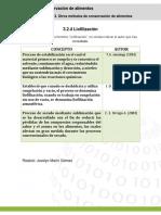 Fichas Liofilización