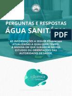Cartilha Mostra Forma Correta de Usar Água Sanitária Pra Limpar Casa