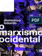 Domenico Losurdo - O Marxismo Ocidental