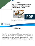 IDENTIFICACION  Y EVALUACION DE RIESGOS LABORALES