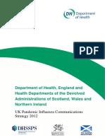 UK Pandemic Influenza Communications Strategy 2012