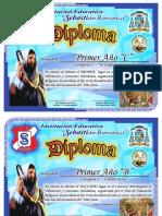 Diploma concurso de villancicos 2017