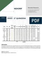 Benndorf Research - Carteira recomendada 2° quinzena de maio 15_05_20